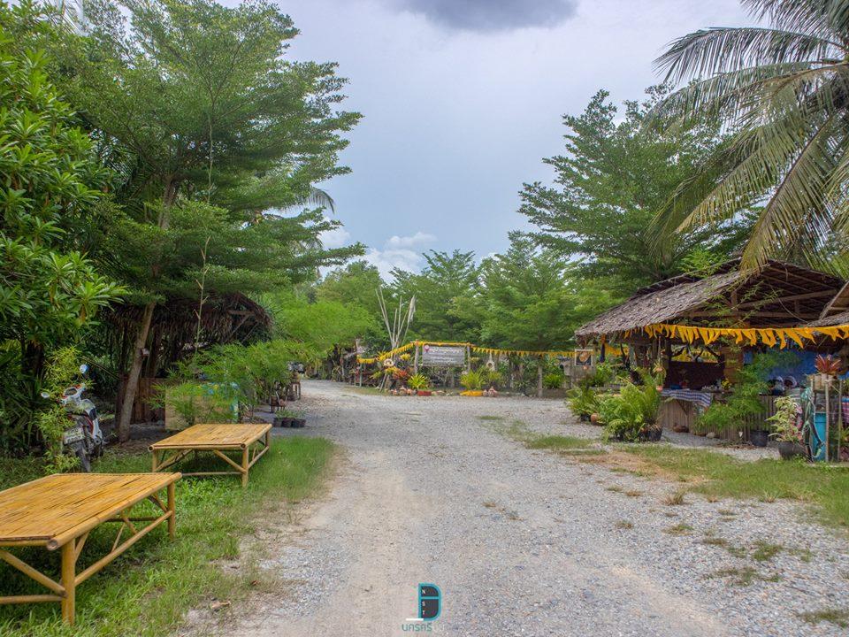 ตลาดกรีนภูมิปัญญา สวนอาจารย์ทวี Wisdom Village นครศรีดีย์