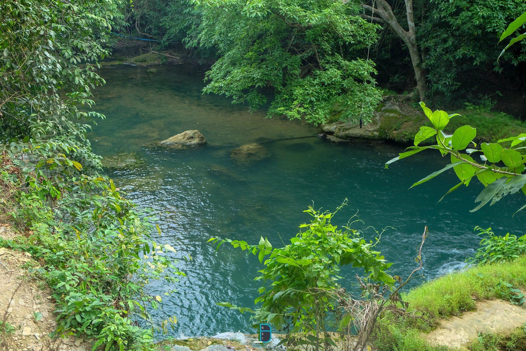 น้ำตกหนานสวรรค์ ชะอวด นครศรีธรรมราช จุดเช็คอินลับใหม่ ธรรมชาติน้ำใสสีฟ้าสมบูรณ์ นครศรีดีย์