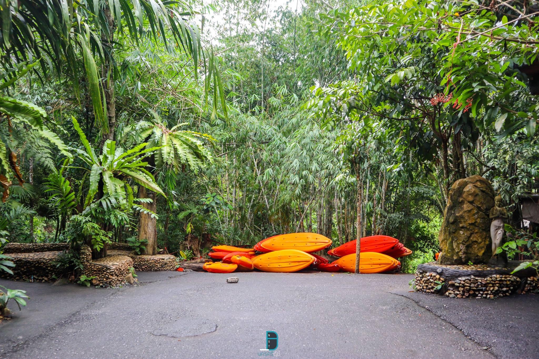 ล่องแก่งน้ำใสๆ สุดยอดธรรมชาติกลางป่า at หนานมดแดง พัทลุง by ตั้งใจกลการ นครศรีดีย์