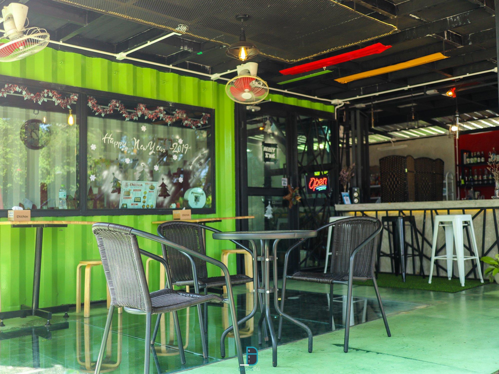 ร้านไก่สไตล์เกาหลี นครศรีธรรมราช ChiChon ร้านสวยลึกลับในป่ากลางเมือ นครศรีดีย์