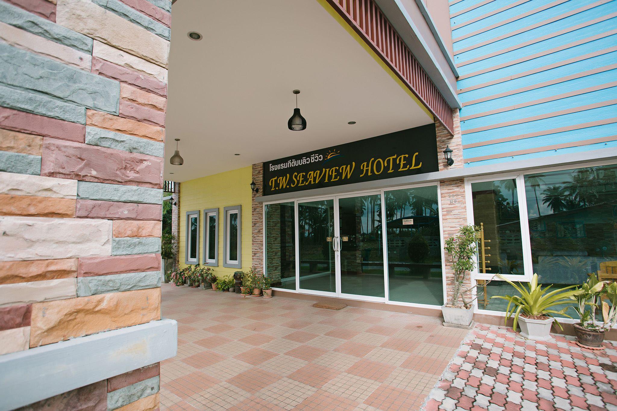 ที่พัก ท่าศาลา โรงแรม T.W.Seaview Hotel ห้องประชุม ห้องจัดสรรค์ ห้องจัดเลี้ยง นครศรีดีย์