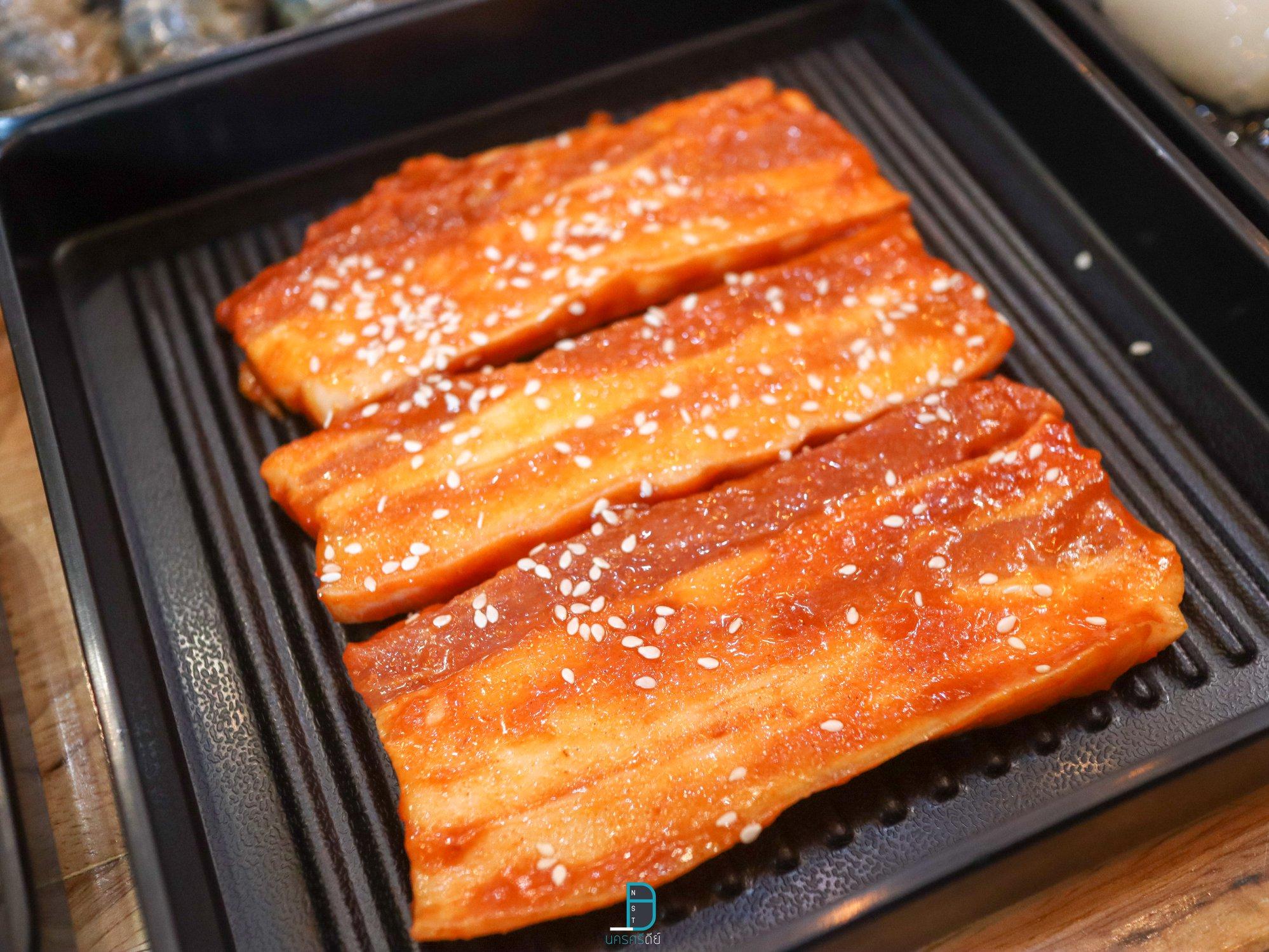 เตาย่างเกาหลี ปิ้งย่างชาบูนครศรีธรรมราช Morfin shabu grill at ibiz avenue นครศรีดีย์