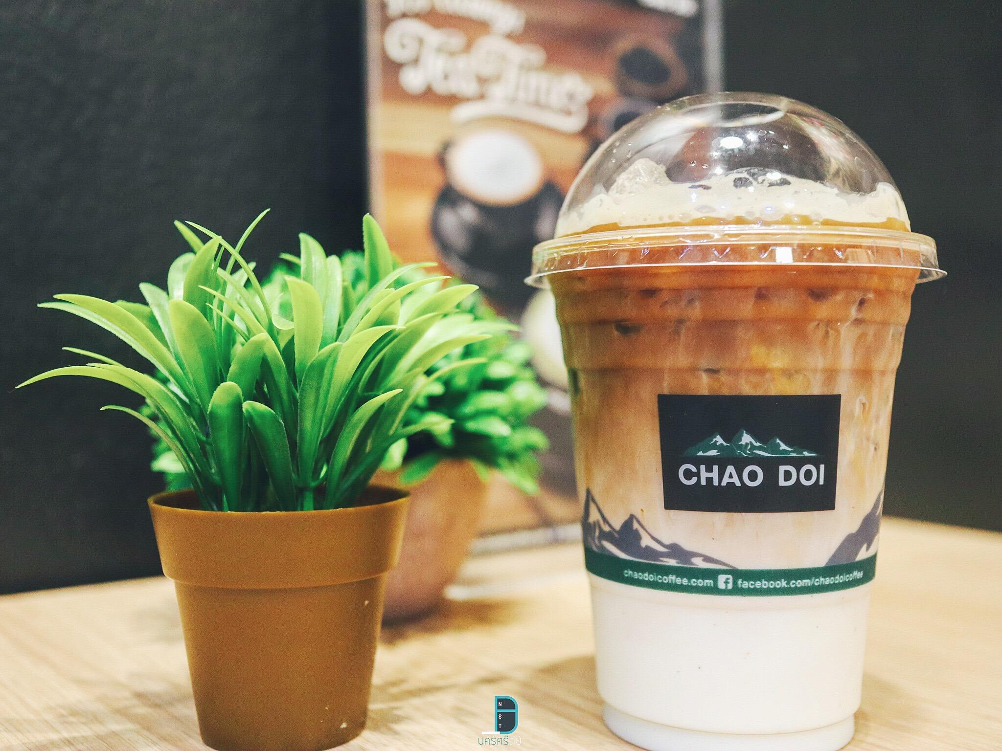 Chao doi นครศรีธรรมราช ร้านกาแฟสวยๆ นั่งสบาย เครื่องดื่มหลากหลายเมนู at ibiz avenue นครศรีดีย์