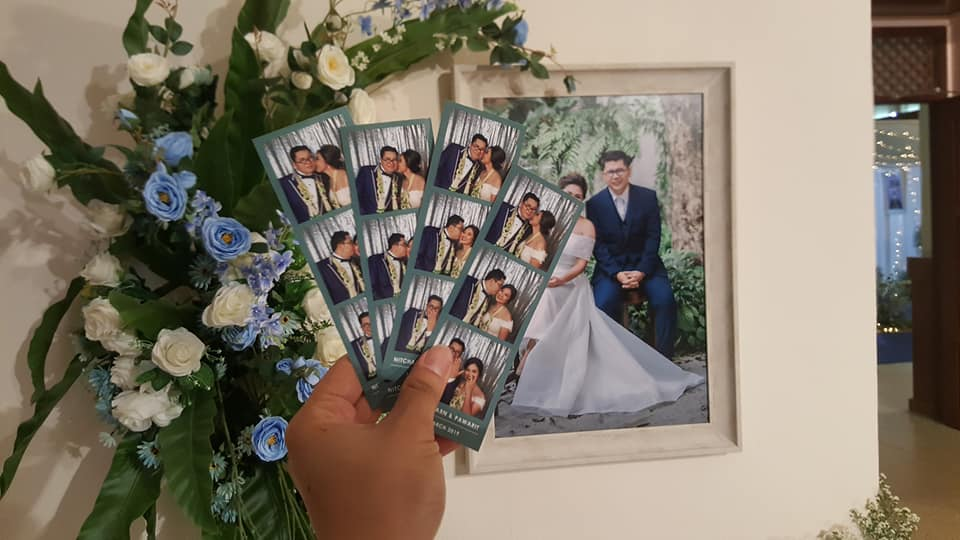 โฟโต้บู๊ท นครศรีธรรมราช  Mbooth ซุ้มถ่ายสติ๊กเกอร์ทุกงานแต่งงาน นครศรีดีย์