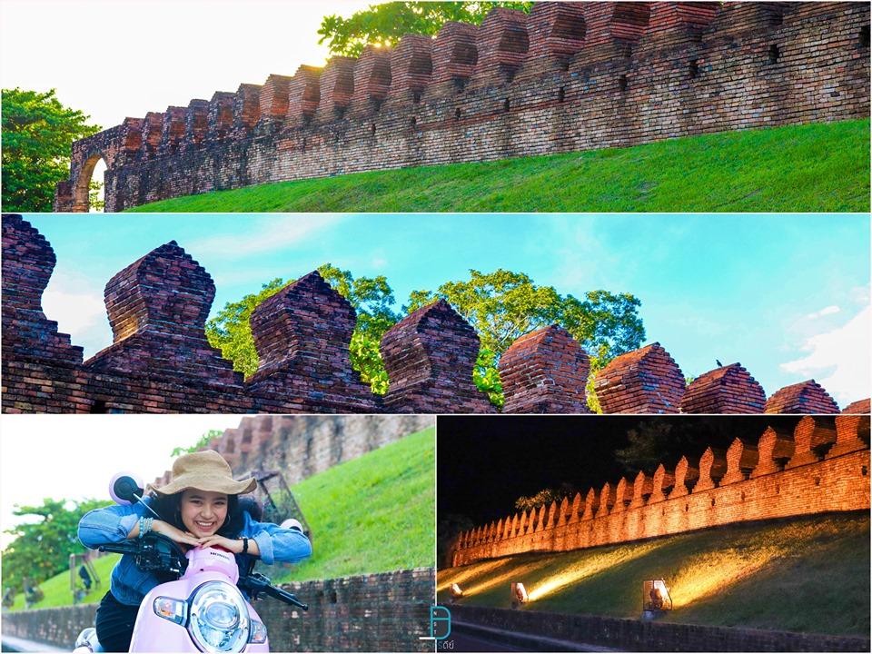 7. กำแพงเมืองเก่า นครศรีธรรมราช สวยงามในตอนกลางวันและตอนกลางคืนครับ อำเภอเมือง,ของกิน,ร้านอร่อย,ที่พัก,นครศรี,โรงแรม,รีสอร์ท,ร้านอาหาร