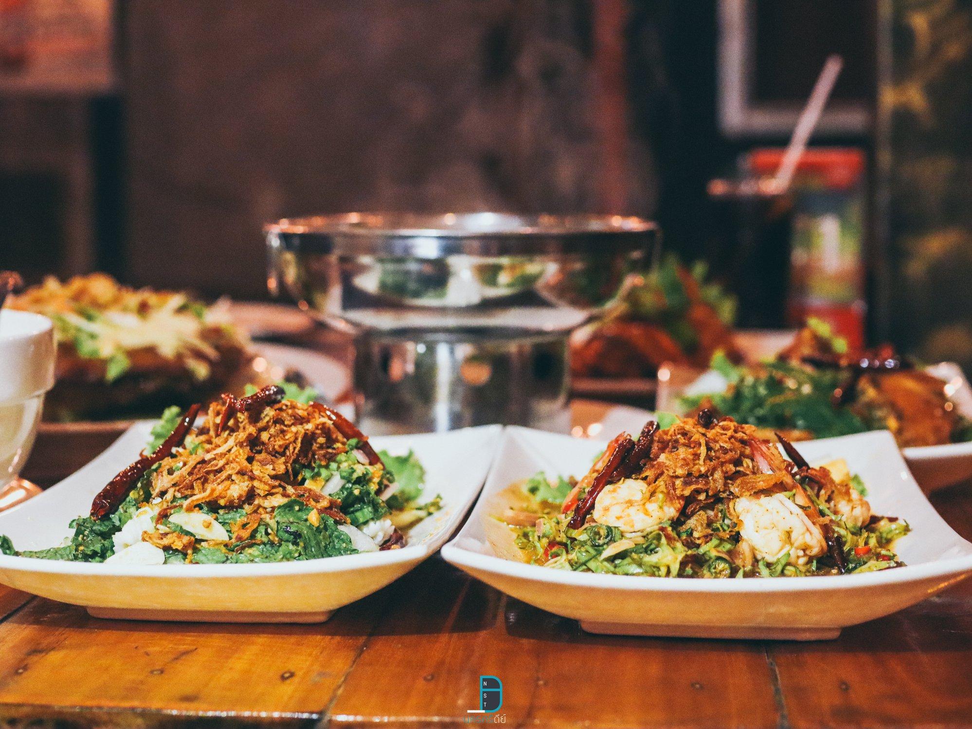 ร้านอาหารสุดสวย อำเภอเมืองนครศรีธรรมราช ตู้เสบียง ห้องครัวของคนนคร อร่อยเด็ด นครศรีดีย์
