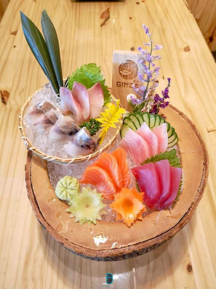 ร้านอาหารญี่ปุ่นพรีเมี่ยม แซลมอนซาซิมิ ซูชิเด็ด นครศรีธรรมราช Ginza Izakaya นครศรีดีย์