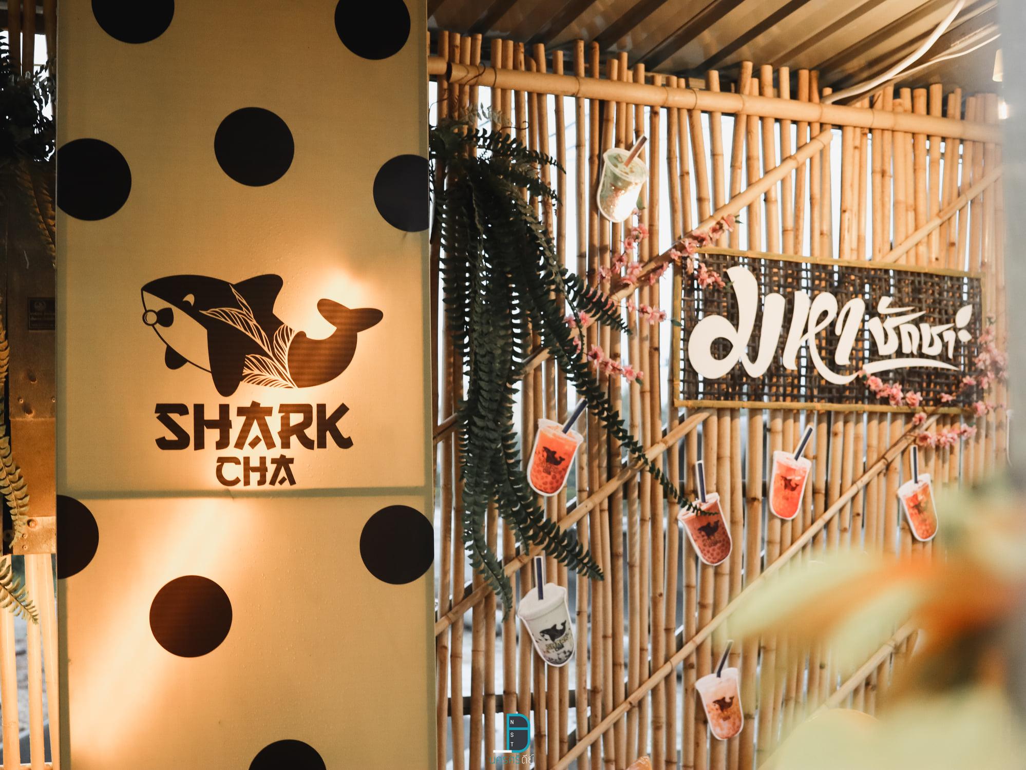Shark Cha นครศรีธรรมราช ร้านชาไข่มุกตักเองแก้วใหญ่แบบจุกๆ นครศรีดีย์
