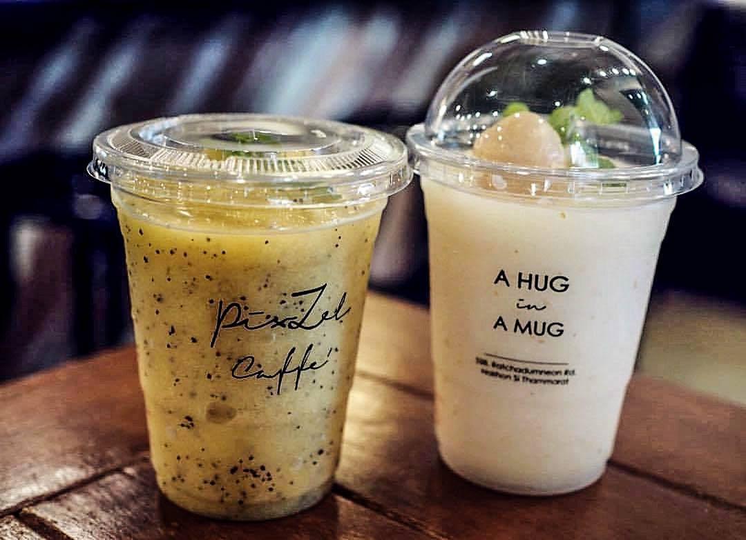 Pixzel Caffe ร้านกาแฟสวยๆนั่งสบาย ที่ใครๆก็บอกว่าร้านนี้พิซซ่าอร่อย นครศรีธรรมราช นครศรีดีย์