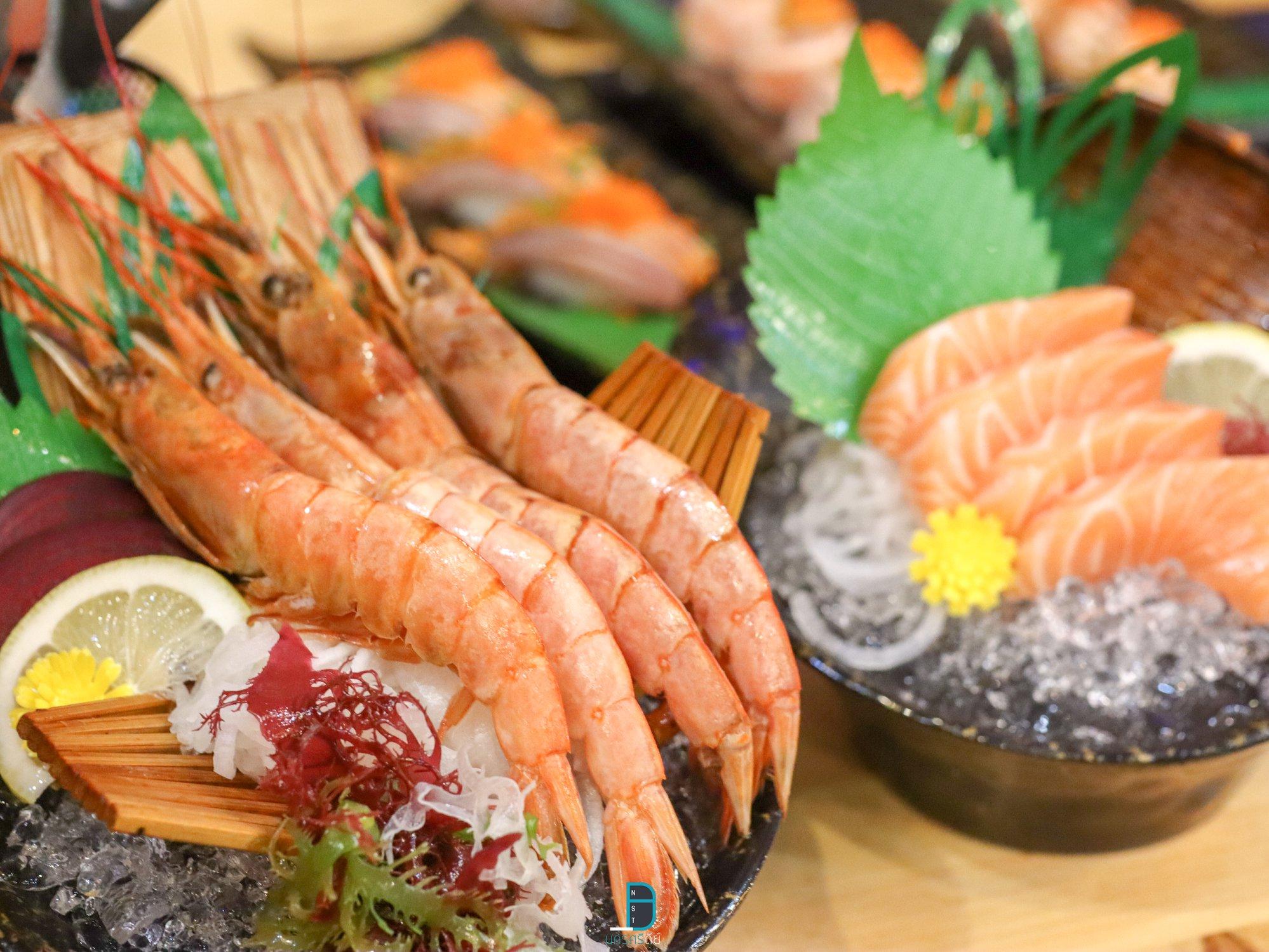 บุฟเฟ่ต์ซาซิมิ ชาบู ปิ้งย่าง อาหารญี่ปุ่น ครบทุกอย่าง ในราคาไม่เกิน 500 บาท at มอฟิน ชาบูแอนกริลด์ นครศรีธรรมราช นครศรีดีย์