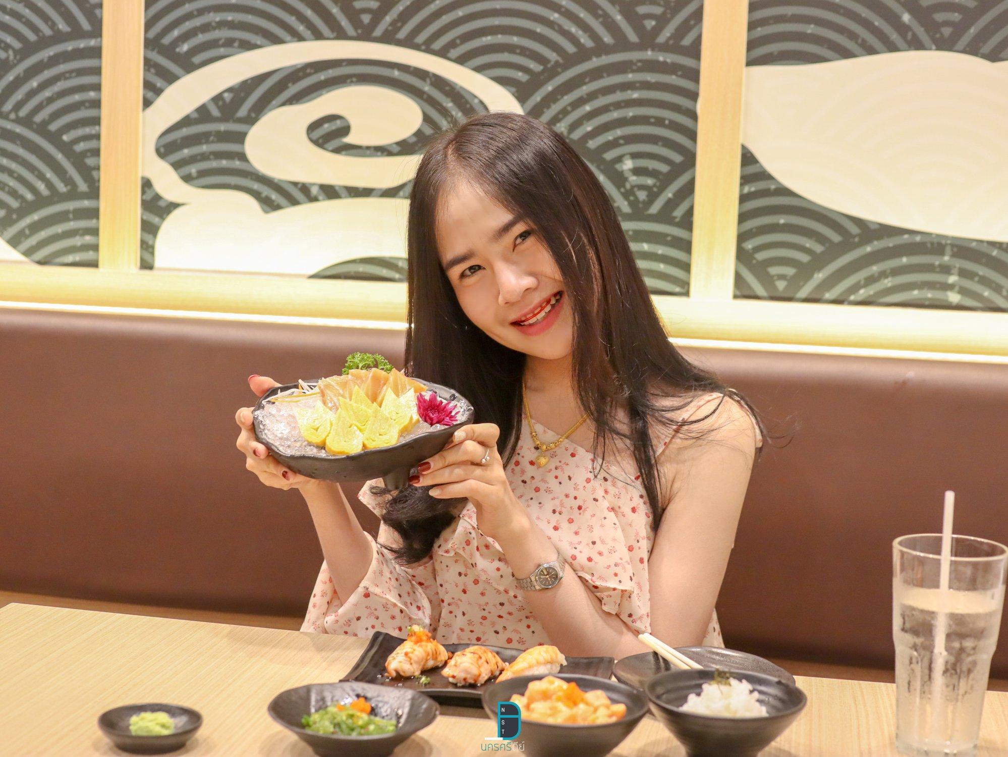 Sushi TORO สหไทยพลาซ่า นครศรีธรรมราช ร้านอาหารญี่ปุ่นอร่อยเด็ด บุฟเฟ่ต์ อะลาคาร์ท นครศรีดีย์