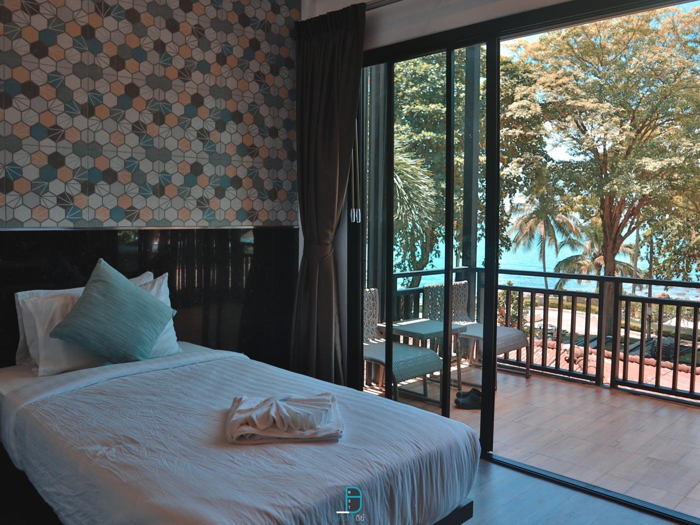 ห้องพักโซนบ้านเดี่ยวบน-วิวทะเลสวยมวากก  ประสานสุข,วิลล่า,บีช,รีสอร์ท,นครศรีธรรมราช,ที่พัก,สิชล