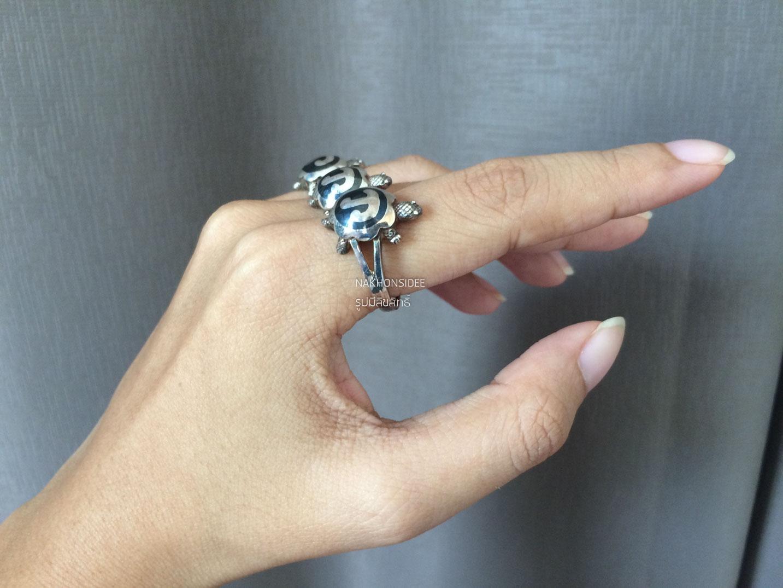 แหวนนโมเต่าา  งานจริงสวยมากกกก