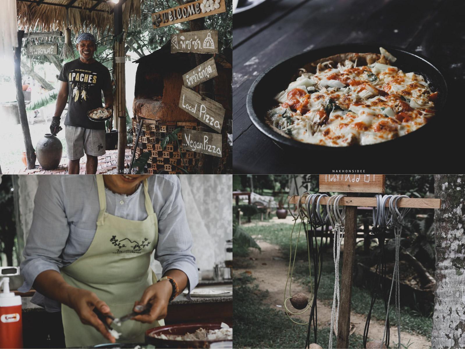 กิจกรรมทำพิซซ่า เตาดิน ใช้ผักกูด และผักทั้งหมด แอดชิมแล้วและลองทำแล้วขอบอกว่าสนุกมากๆ และอร่อยด้วยน้าาา (อวยตัวเอง) 555พัทลุง,tat,ททท,การท่องเที่ยว,นครศรี,จุดเช็คอิน,กงหรา,พื้นบ้าน