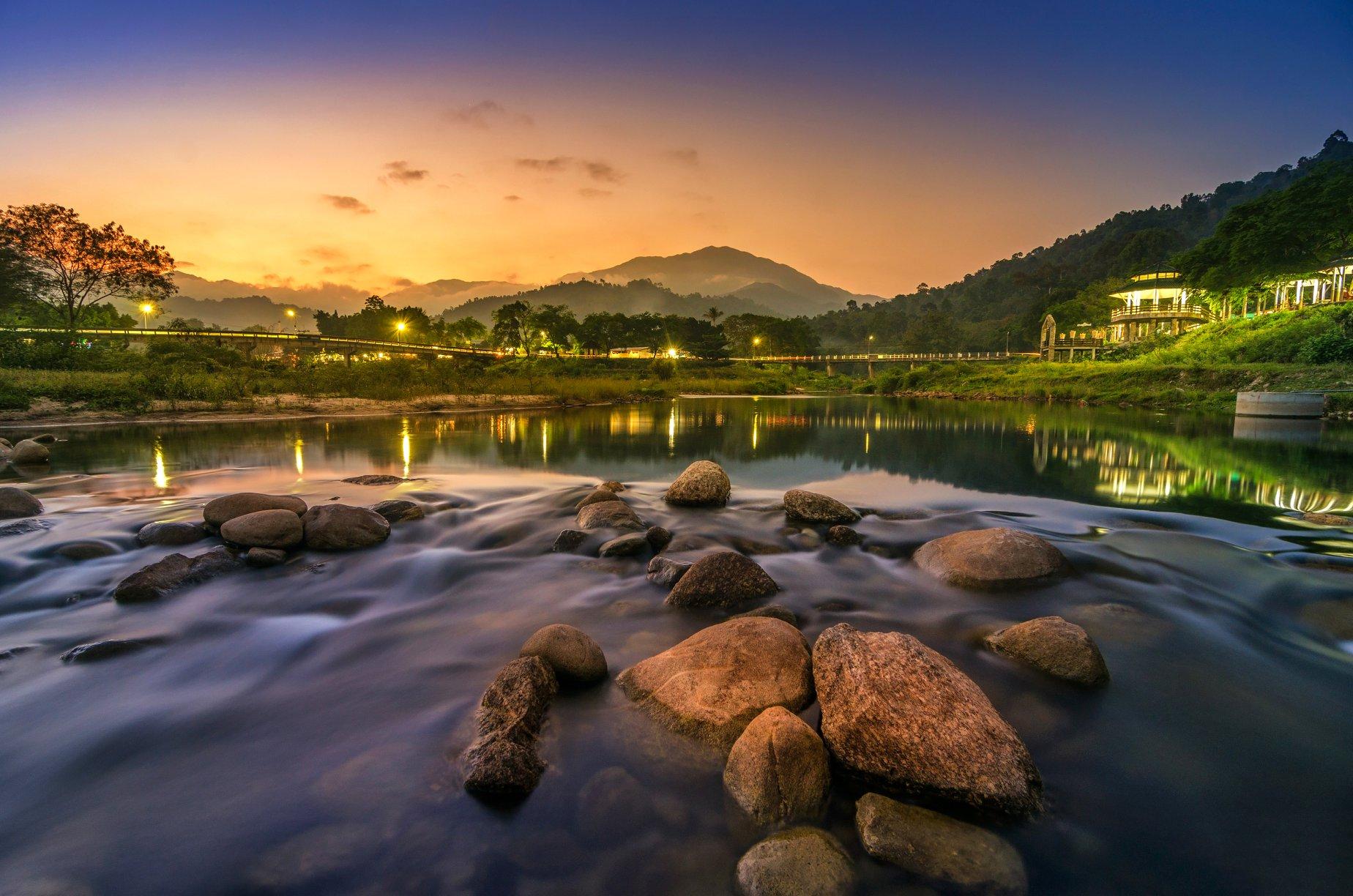 14.-สะพานคีรีวง-ลานสกา-หนานหินท่าหา-นครศรีธรรมราช นครศรี,พัทลุง,ที่เที่ยว,ทะเลหมอก,ทะเล,ธรรมชาติ,น้ำตก