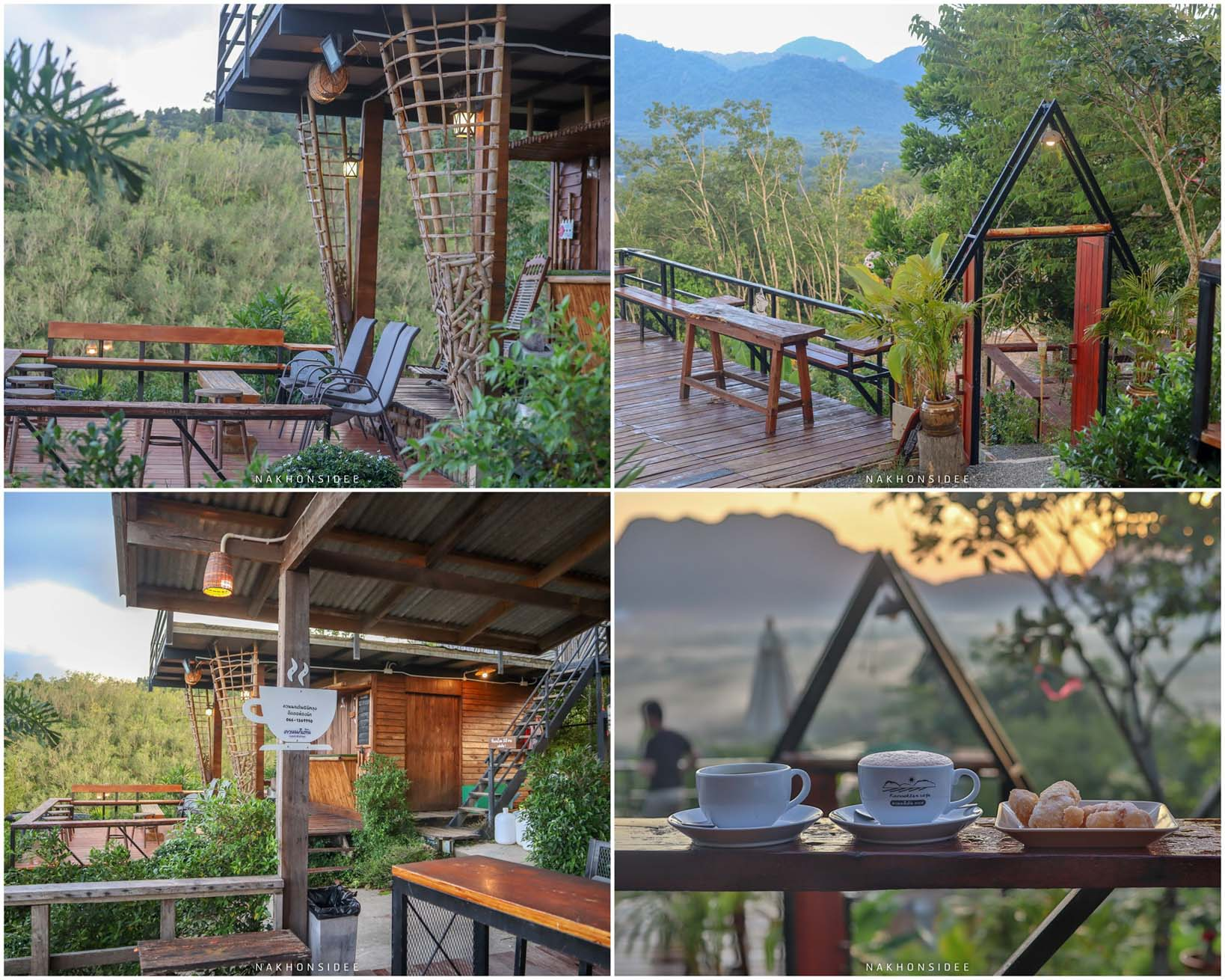 8.-ควนนกเต้น-Cafe ร้านกาแฟ-พร้อมอาหารอร่อยๆ-วิวหลักล้าน-ต้องที่นี่เลยย--การจะขึ้นจุดชมวิว-มีรถบริการรับส่ง-ท่านละ-60-บาทนะครับ- ที่เที่ยว,ที่พัก,พัทลุง,การท่องเที่ยว,ประเทศไทย,วิถีชีวิต,ชุมชน,ดริฟท์กาแฟ