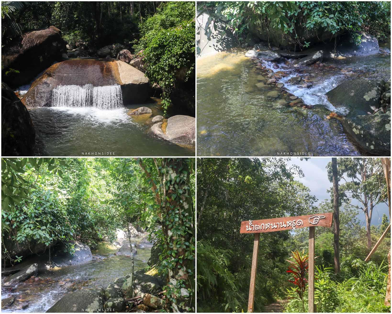 10.-น้ำตกหนานหรูด ที่เที่ยว,ที่พัก,พัทลุง,การท่องเที่ยว,ประเทศไทย,วิถีชีวิต,ชุมชน,ดริฟท์กาแฟ