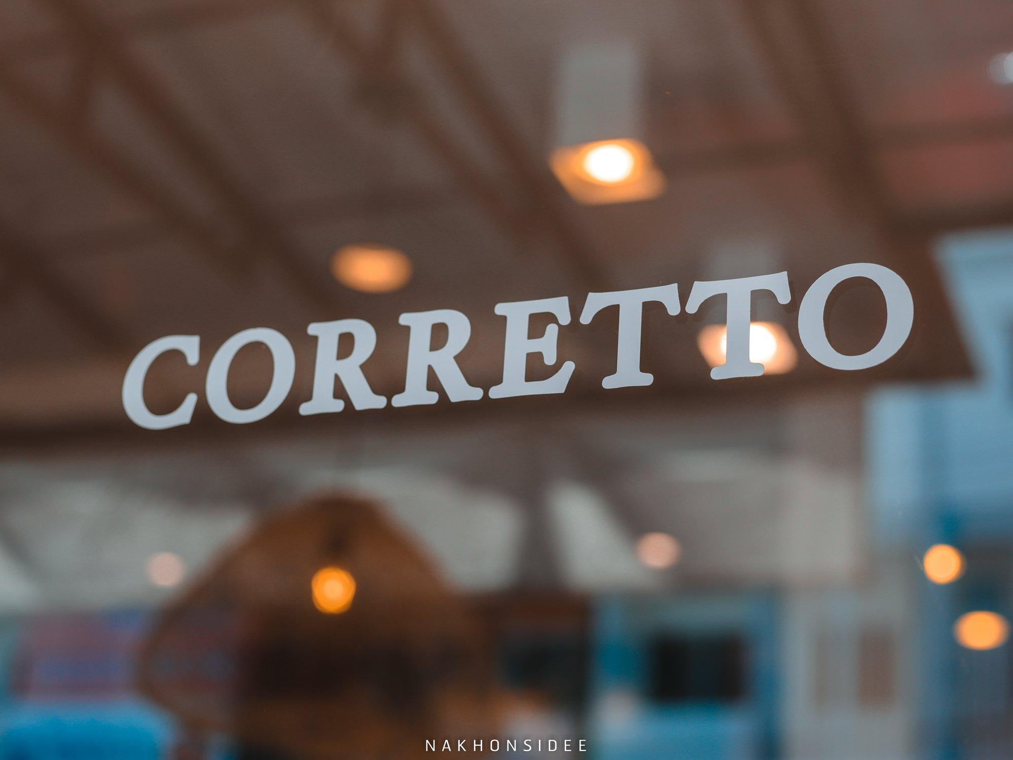 คอเร็ทโต้,Corretto,ร้านกาแฟ,คาเฟ่,ใจกลางเมือง,อร่อย,ช็อกโกแลต,มัจฉะ,ชาเขียว