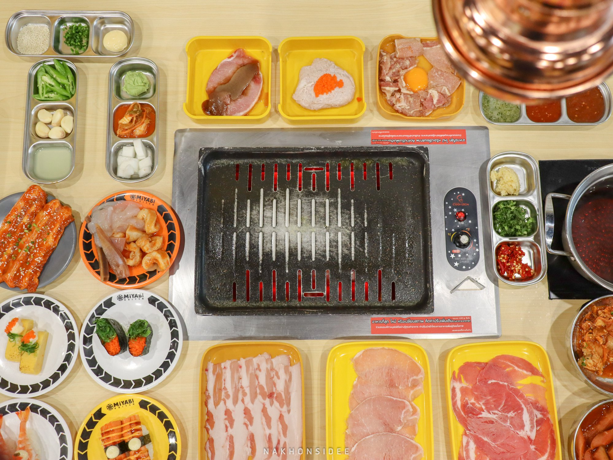 ชาบู,ปิ้งย่าง,โซลเสตชั่น,นครศรี,อร่อย,ห้าง,สหไทยพลาซ่า,เกาหลี