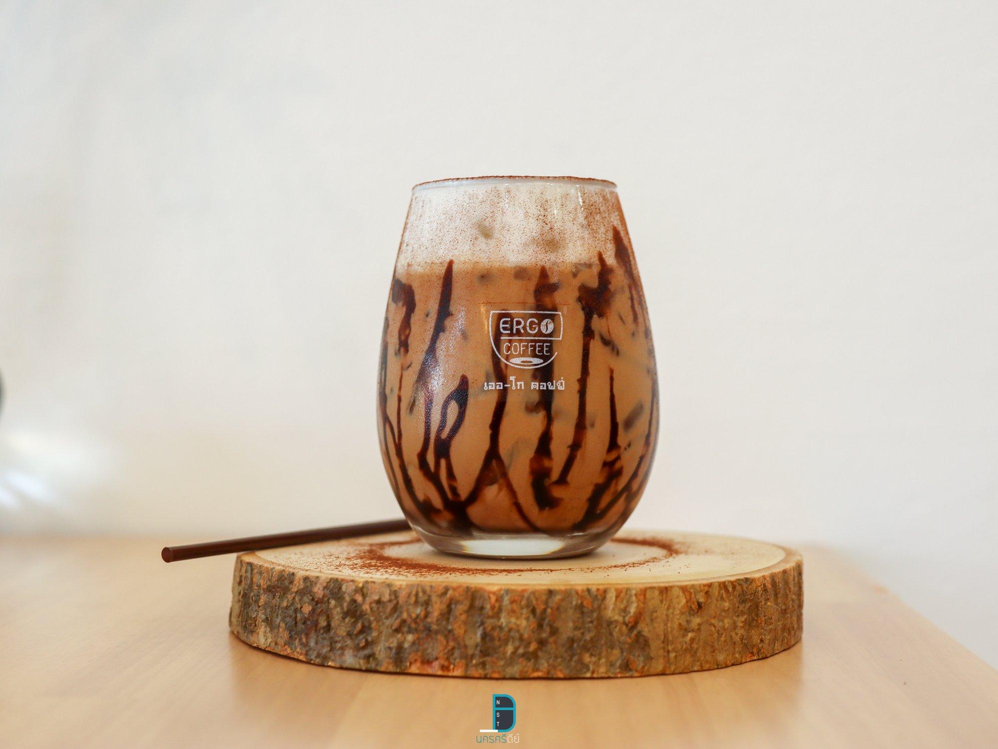 Ergo Coffeeชาเขียว,มัจฉะ,โกโก้,อร่อยเด็ด,ช็อกโกแลต