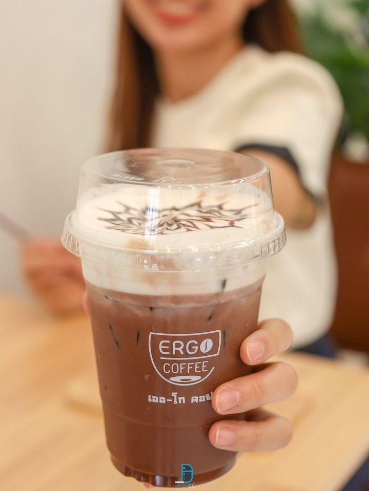 ช็อกโกแลต โกโก้เด็ดดด 10/10 ร้าน Ergo Coffeeชาเขียว,มัจฉะ,โกโก้,อร่อยเด็ด,ช็อกโกแลต