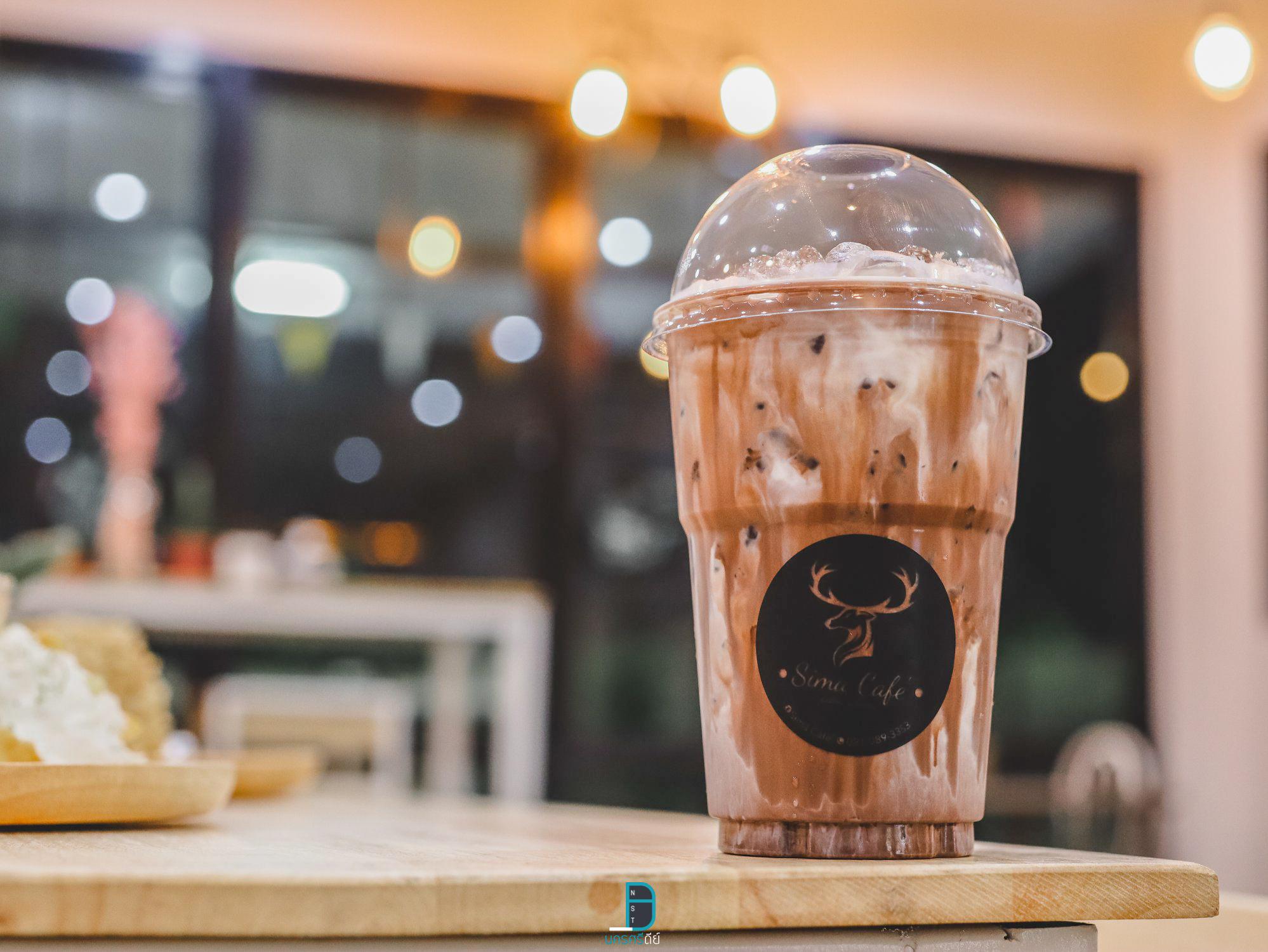 Sima Cafe ฉวางงชาเขียว,มัจฉะ,โกโก้,อร่อยเด็ด,ช็อกโกแลต