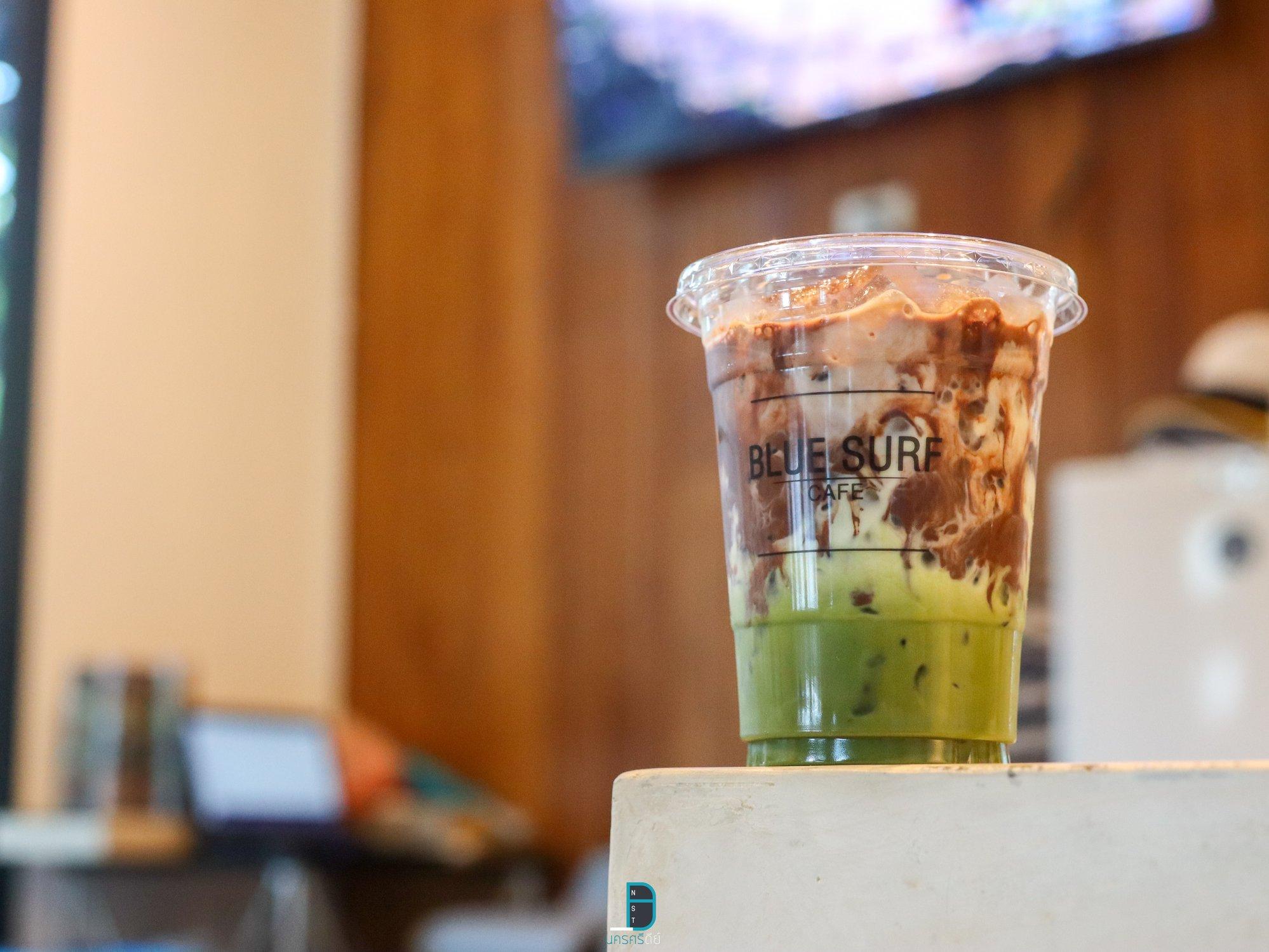 มัจฉะโกโก้ Blue Surf Cafeชาเขียว,มัจฉะ,โกโก้,อร่อยเด็ด,ช็อกโกแลต