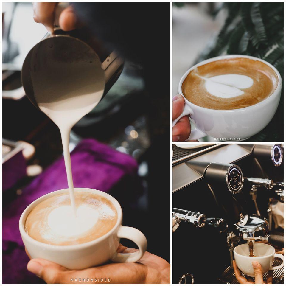 กาแฟทำดีมากครับ สวยๆเป๊ะๆ รสชาตินุ่มๆ สิชล,นครศรีธรรมราช,ใกล้วัดเจดีย์,ตาไข่,เมืองคอน,แจคาเฟ่,วิวหลักล้าน,กลางป่า,กลางหุบเขา