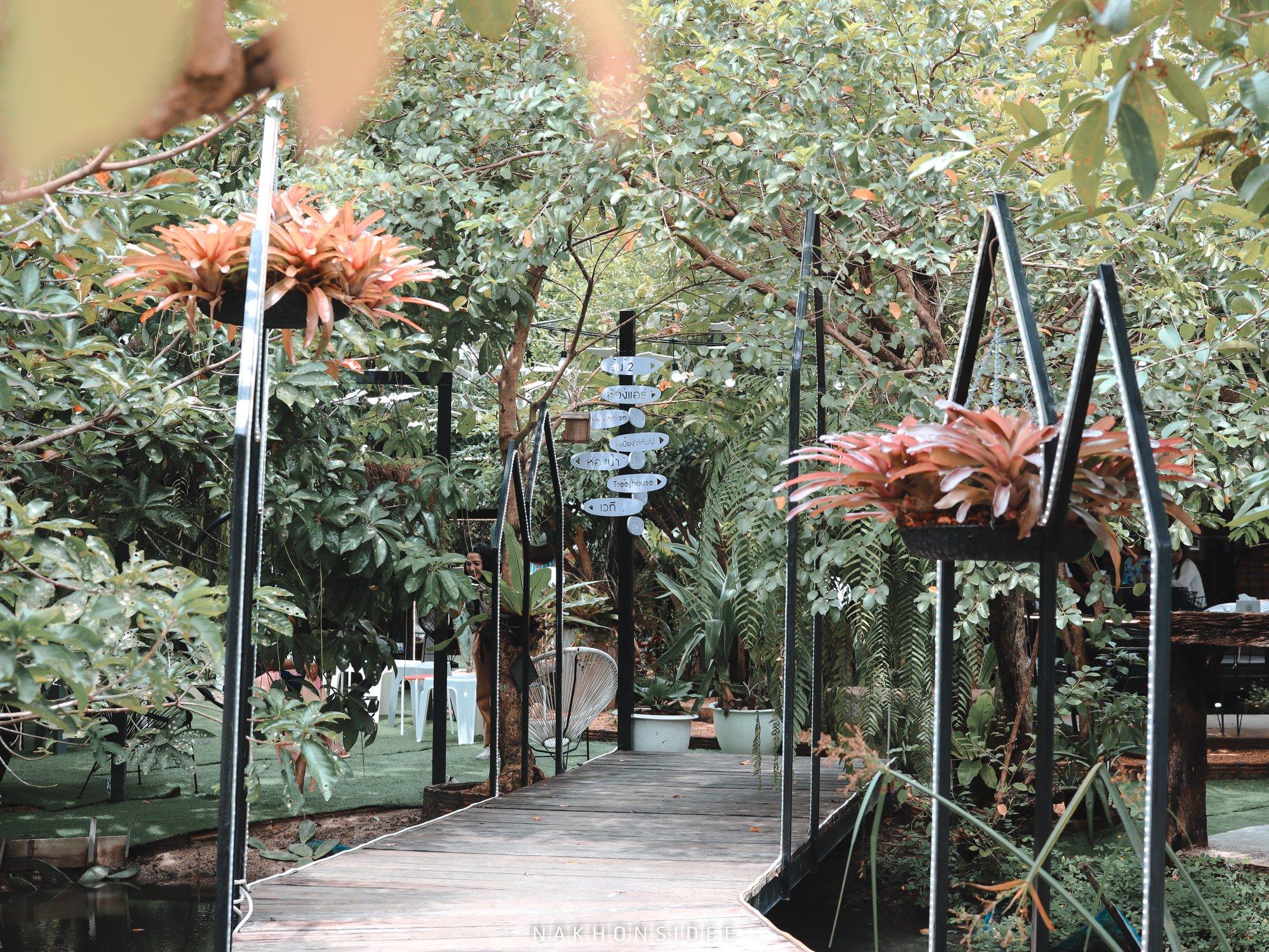 treestation,ร้านอาหาร,คาเฟ่,กลางป่า,อร่อย,ของกิน,นครศรีธรรมราช