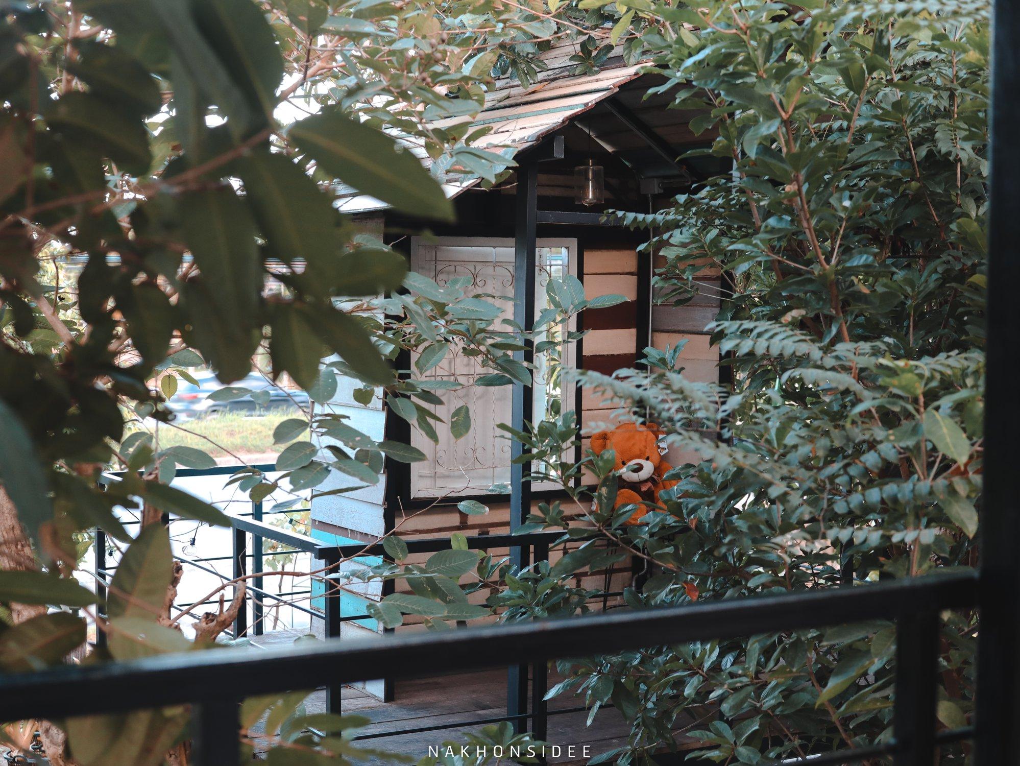 โซนบ้านต้นไม้-จะเป็นบ้านต้นไม้ชั้น-2-เป็นหอคอยให้ขึ้นไปถ่ายรูปได้งับ  treestation,ร้านอาหาร,คาเฟ่,กลางป่า,อร่อย,ของกิน,นครศรีธรรมราช