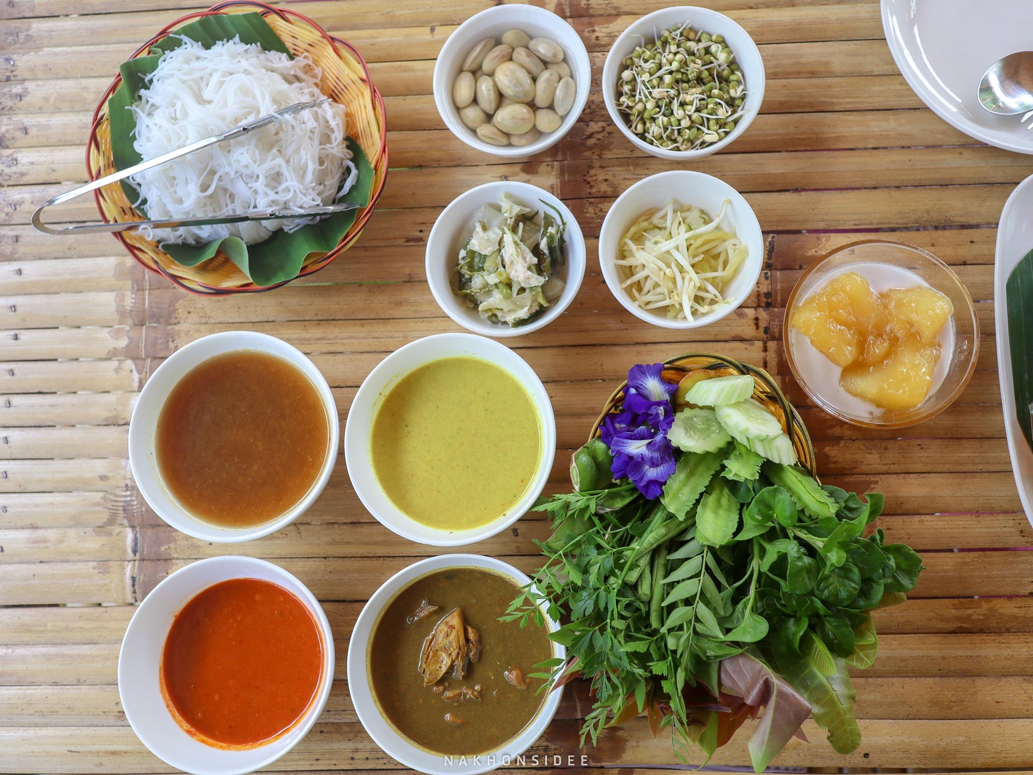ขนมจีน,ลานสกา,ขุนทะเล,ของกิน,อร่อย,เด็ด,นครศรีธรรมราช