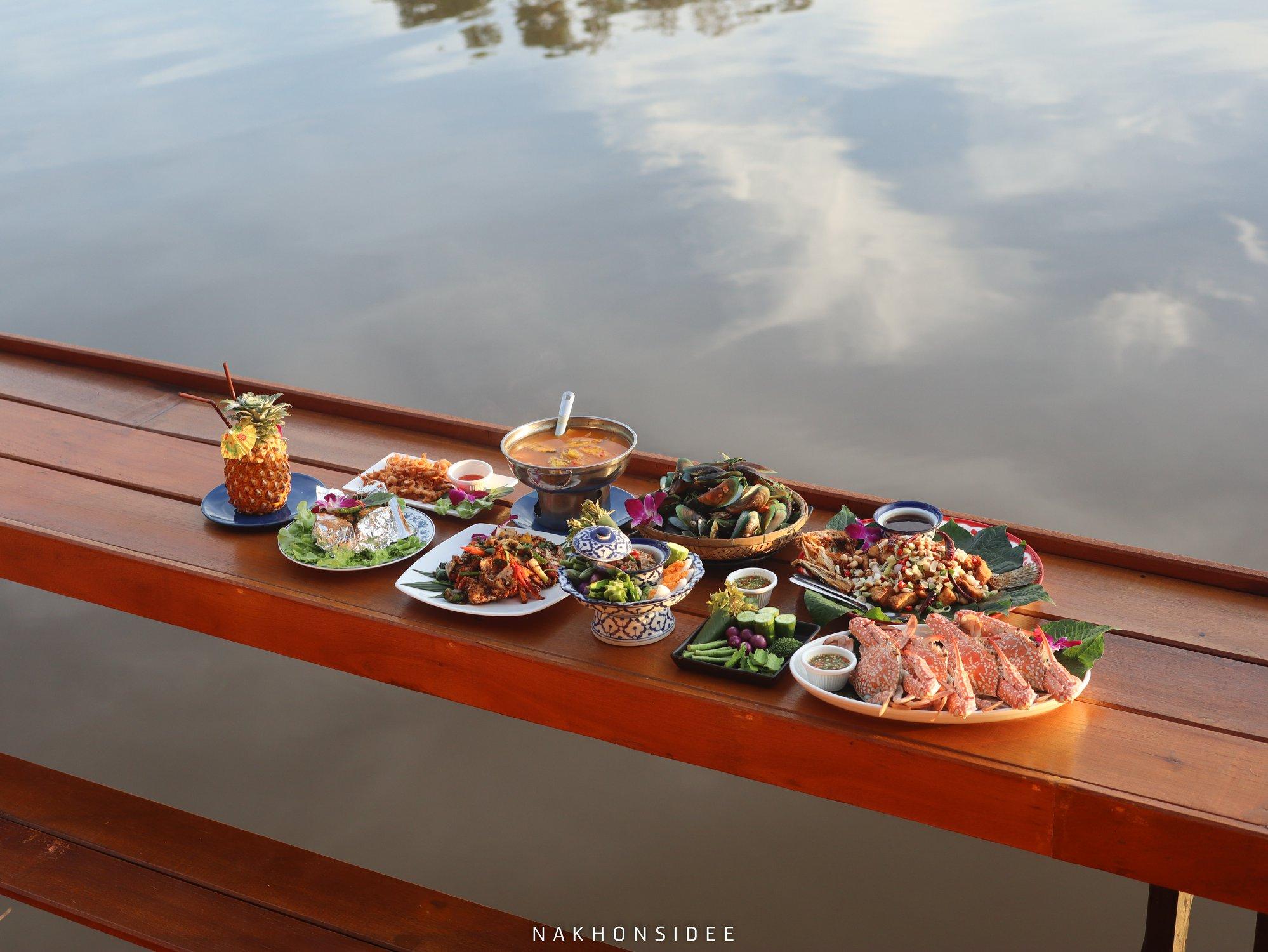 บอกเลยอาหารสดมากกก-ปูเนื้อแน่น-10/10-น้ำจิ้ม-น้ำพริก-เด็ดหมดด-ห่อหมกก-แกงส้ม-ต้มยำ ท่าศาลา,ครัวปากพยิง,นครศรี,ของกิน,อร่อยเด็ด,นครศรีธรรมราช,ร้านอาหาร