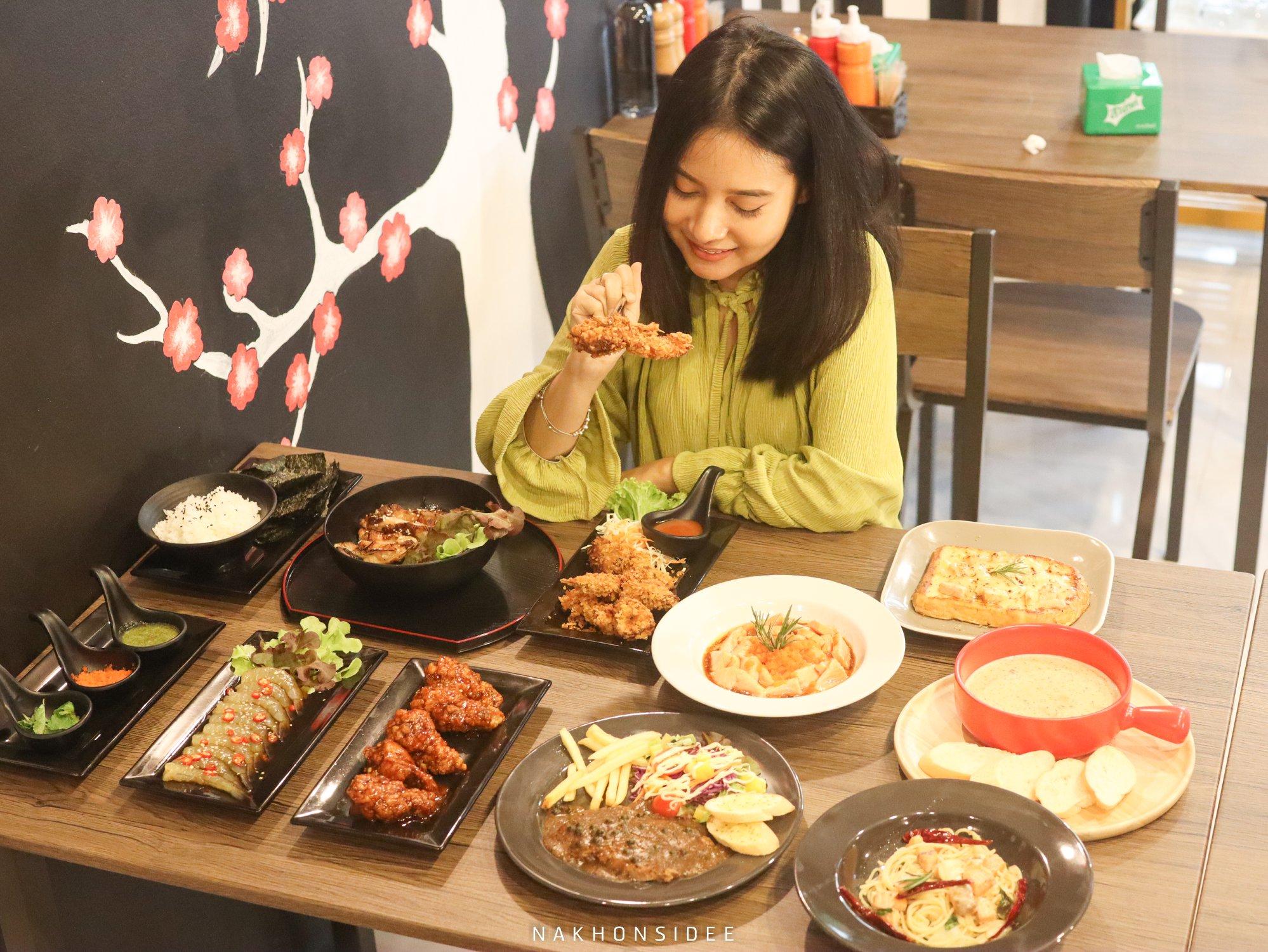 อาหาร,เครื่องดื่ม,เกาหลี,ญี่ปุ่น,อาหารไทย,ฝรั่ง,คาเฟ่,นครศรีธรรมราช
