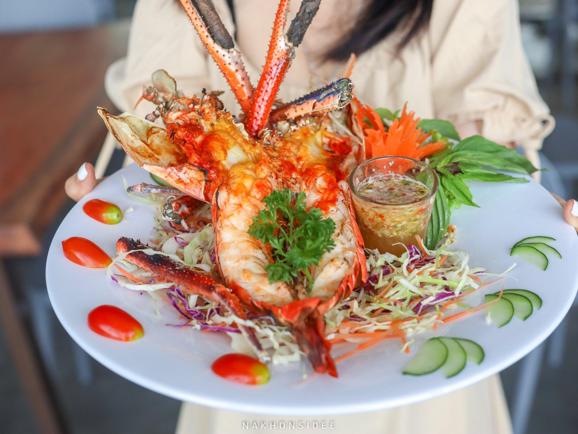 อันนี้อร่อยย  ร้านอาหารทะเล,นครศรีธรรมราช,ซีฟู๊ด,อร่อย,เด็ด,กุ้ง,ดินเนอร์