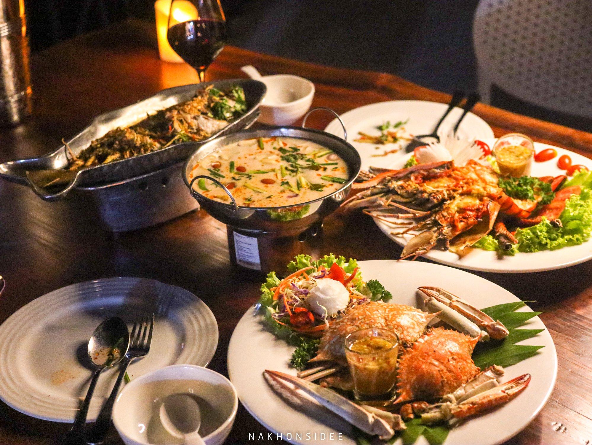 ร้านอาหารทะเล,นครศรีธรรมราช,ซีฟู๊ด,อร่อย,เด็ด,กุ้ง,ดินเนอร์