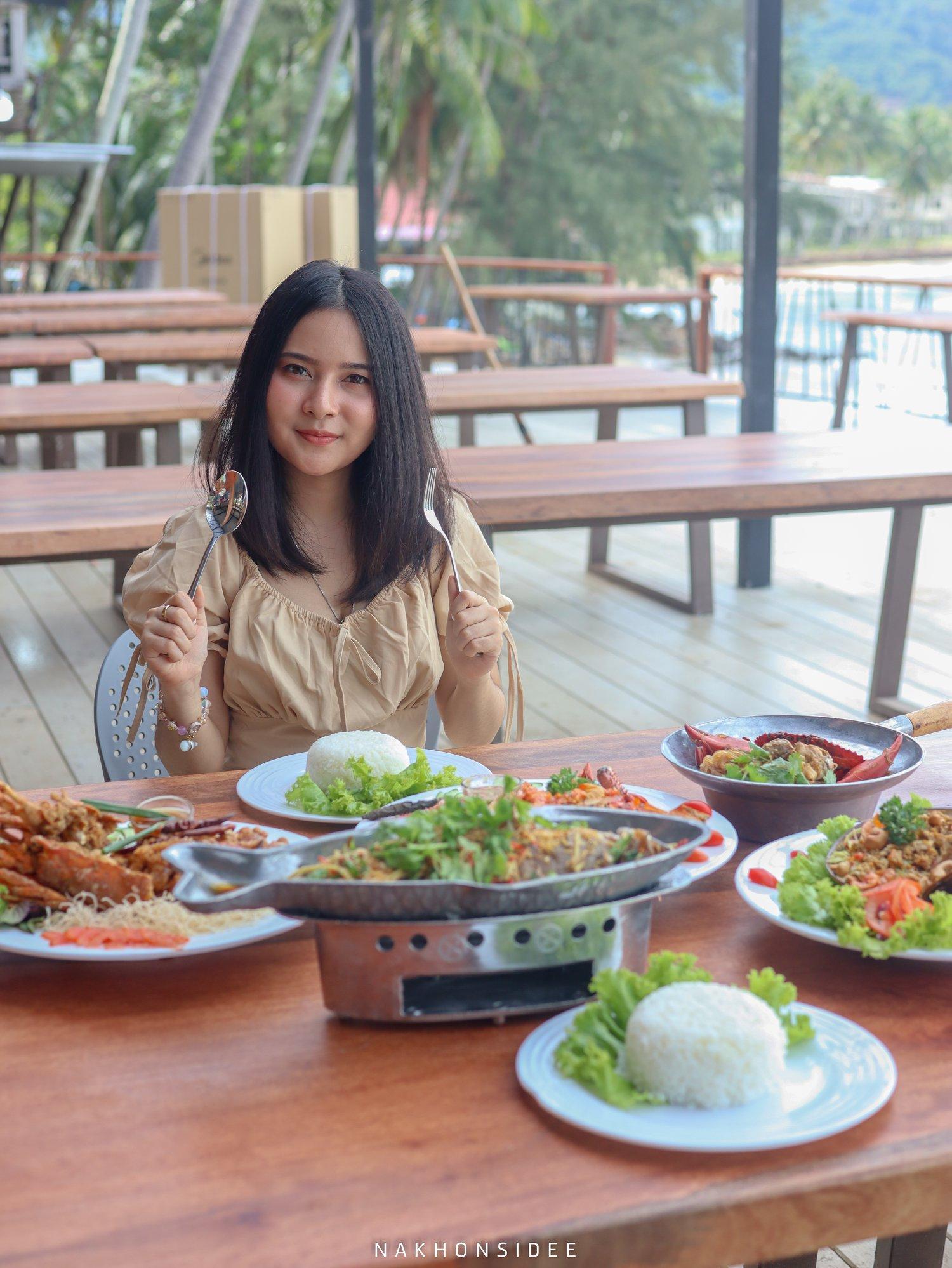 กินกิน  ร้านอาหารทะเล,นครศรีธรรมราช,ซีฟู๊ด,อร่อย,เด็ด,กุ้ง,ดินเนอร์