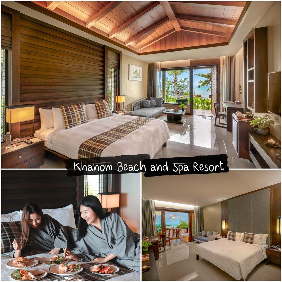 ขนอม-บีช-รีสอร์ท-แอนด์สปา Khanom-Beach-Resort---Spa-ตั้งอยู่ติดทะเลมีห้องพักหลายรูปแบบ-ตั้งแต่-Deluxe-Garden-,-Seaview-ห้องพักหน้าชายหาด-และยังมีห้องพักแบบ-Pool-Villa-ส่วนตัวด้วย-ขอบอกว่าดีย์จริงไรจริง-แอดให้-10/10-ไปเลยครับ-ที่พักมีความเป็นส่วนตัวสูง-วัสดุภายในใช้อย่างดี-ห้องกว้างเหมาะแก่การพักผ่อนชาร์จแบต-ชาร์จหัวใจกันเลยทีเดียวว-อิอิ-ในส่วนของห้องพักในแบบ-Villa-ทั้งหมดจะเป็นหลังทรงไทยแต่ภายในจัดแบบ-Modern-แบบสุดๆ-เป็นการผสมผสานได้อย่างลงตัวเลยครับ-ในส่วนของ-Pool-Villa-สระส่วนตัวก็กว้างจริงไรจริงดีย์ไปอีกกก--ไม่ได้อวยนะต้องไปสัมผัสเองง--ในส่วนของห้อง-วิวหลักล้านอีกแบบคือ-Deluxe-Seaview-ที่ให้สาวๆได้มาแช่อ่างกันนอกระเบียงพร้อมวิวทะเล-เช็คอินถ่ายรูปสวยๆกันเลยครับ-เห็นอย่างงี้ต้องห้ามพลาดแล้ววว----และภายในมีร้านอาหารรองรับสำหรับนักท่องเที่ยวด้วย-ให้คุณพาคนรู้ใจมา-Dinner-แบบหรูๆริมทะเล-หรือจะพาครอบครัวมาก็ได้ครับ-ในส่วนของเมนูอาหารมีมากมายรวมไปถึงบาร์ด้วยครับ-และในส่วนของ-Spa-กำลังจะเปิดให้บริการเร็วๆนี้ครับผม-แบบนี้ต้องไปแล้วววว----เกือบลืมม-ทีเด็ดของที่นี่คือ-Breakfast-in-bed-ที่เพียงแค่โทรบอกโรงแรมจะมีอาหารเช้ามาเสิร์ฟกันถึงหน้าห้อง-และทานบนเตียงได้แบบฟินๆกันแน่นอนนนนน  ที่พัก,ใกล้วัดเจดีย์,ตาไข่,ตาพรานบุญ,นครศรีธรรมราช,สิชล,ขนอม