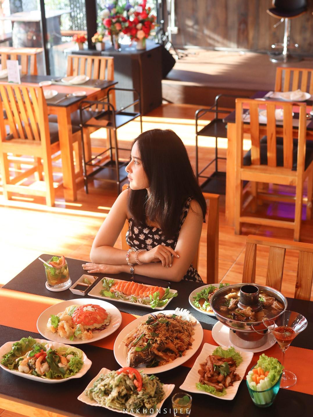ของกิน,นครศรี,ร้านนั่งชิว,อร่อย,ร้านกลางคืน,นั่งสบาย