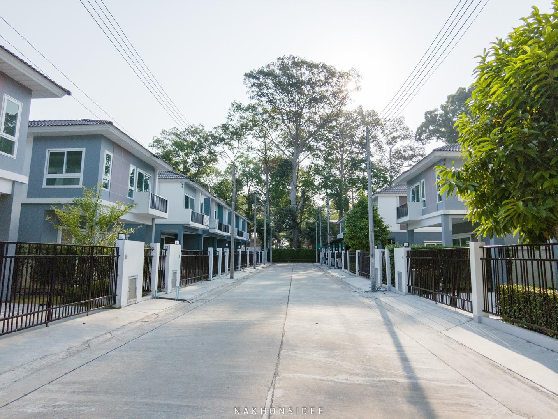 ถนนพื้นที่กว้าง-ไม่แออัด  ศุภาลัย,พรีโม่,นครศรีธรรมราช,ท่าลาด,Supalaiprimo
