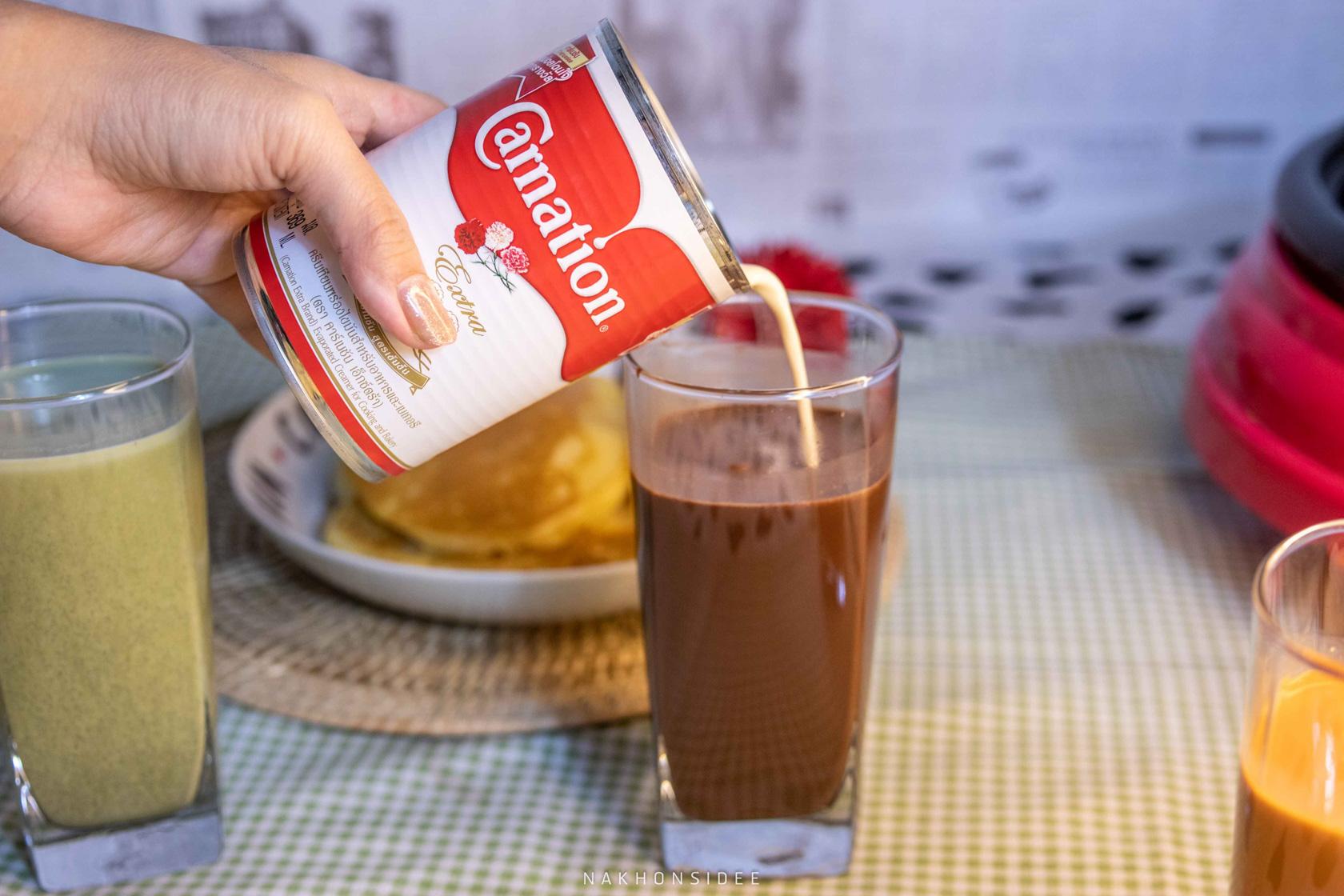 โกโก้ หรือจะเป็นเมนูโกโก้-ก็ยังให้รสชาติของโกโก้ที่เจ้มจ้นไปอีกแบบ  คาร์เนชัน,Carnationextra,คาร์เนชันเอ็กซ์ตร้า,หอม,มัน,อร่อย